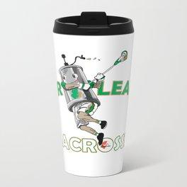 Beer League Lacrosse Metal Travel Mug