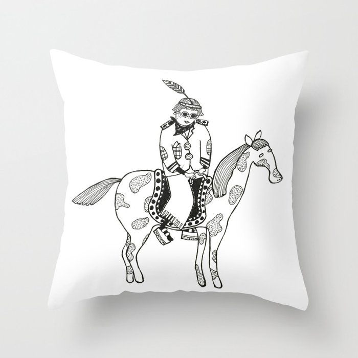 POCAHONTAS Throw Pillow