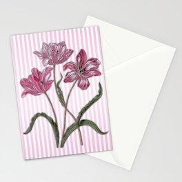 Maria Sibylla Merian: Three Tulips Stationery Cards