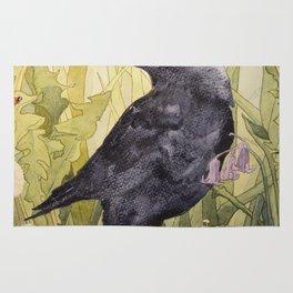 Canuck the Crow Rug