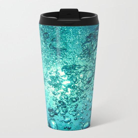 Thirsty Sprite Bubble Metal Travel Mug