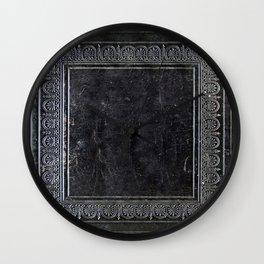 Black Antique Book Wall Clock