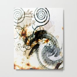 the Lindwurm Metal Print