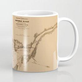 Map of Potomac River 1838 Coffee Mug