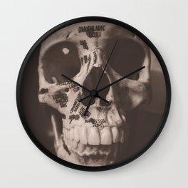 Orbicularis Oculi Wall Clock