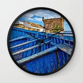 Essaouira port Morocco Wall Clock