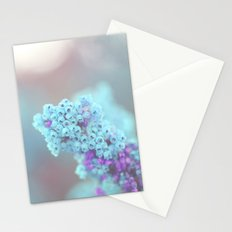 Teal and Purple Stationery Cards