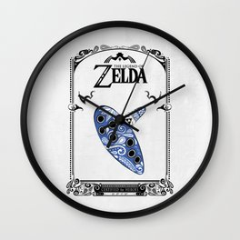 Zelda legend - Ocarina of time Wall Clock