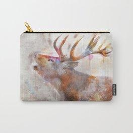 Waercolor Deer Carry-All Pouch