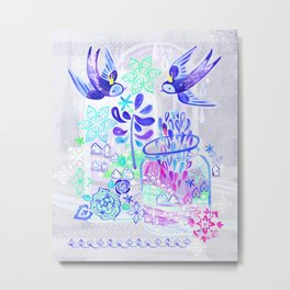 Summertime Kingdom Metal Print
