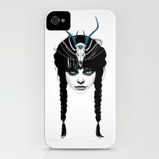 Wakeful Warrior - In Blue Slim Case iPhone (4, 4s)