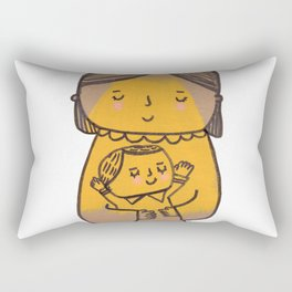 Baby doll, go to Sleep! Rectangular Pillow