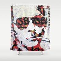 bats Shower Curtains featuring Bats by Matt Pecson