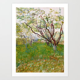 The Flowering Orchard Art Print