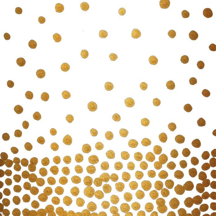 Gold Bubbles Comforters