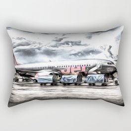 Boeing 737 Art Rectangular Pillow