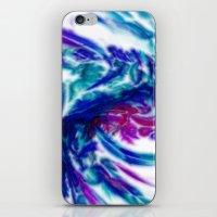 tie dye iPhone & iPod Skins featuring Tie Dye by ArtsyWorks
