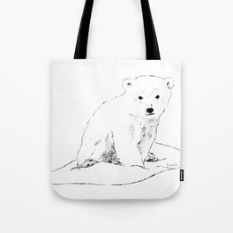 Bear cubs  traveler Tote Bag