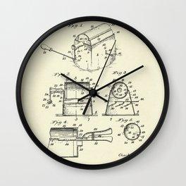 Coffee Roaster-1923 Wall Clock