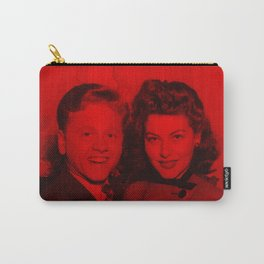 Mickey Rooney - Celebrity (Photographic Art) Carry-All Pouch