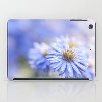 biology iPad Cases featuring Blue Aster in LOVE  by UtArt