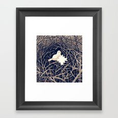 Winter Bird Framed Art Print