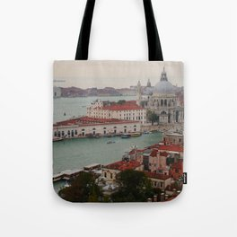 Venice view from the Campanile of San Marco Tote Bag