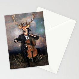 The Musican - Vinolocello Stationery Cards