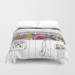 sold out show Duvet Cover