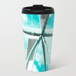 Technicolor Abstract Travel Mug