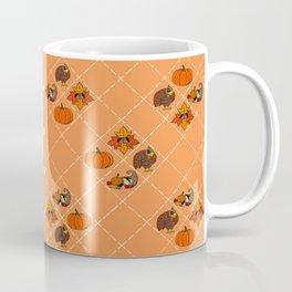 Thanksgiving Pattern Coffee Mug