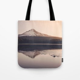 Wild Mountain Sunrise Tote Bag