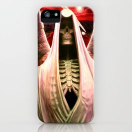 The Angel of Death. iPhone Case