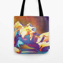 The United Colours of Orgasm Thermal Nude Tote Bag