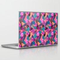 gem Laptop & iPad Skins featuring Gem Pop by Nikkistrange