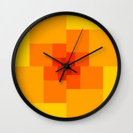 The Square Wall Clock