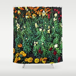 A Moment of Flowers in Estes Park Shower Curtain