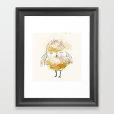 just a little owl Framed Art Print