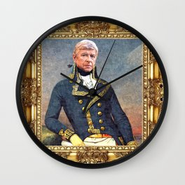 Marshal Arsene Wenger Wall Clock