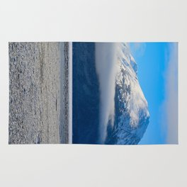 Winter Fog - Turnagain Arm, Alaska Rug