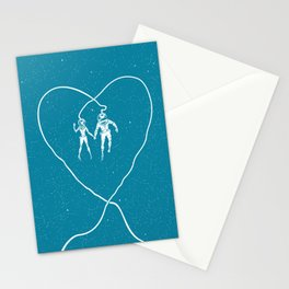 Love Space, Blue Stationery Cards