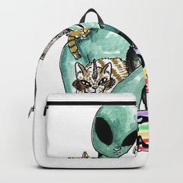 support gay aliens Backpack