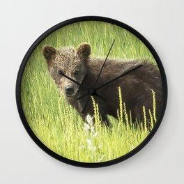 I Love Me a Teddy Bear Wall Clock