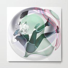 Dormant Jackqua │Comic-Like Style Metal Print