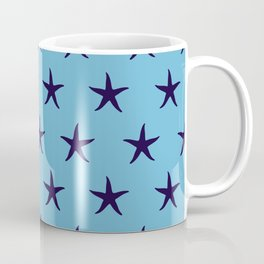 Nautical Seamless Collection 34 - starfish Coffee Mug