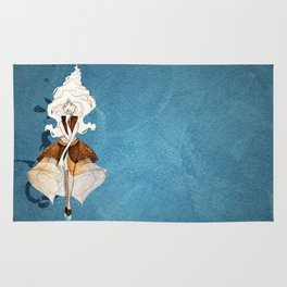 Frozen Yogurt Princess Rug
