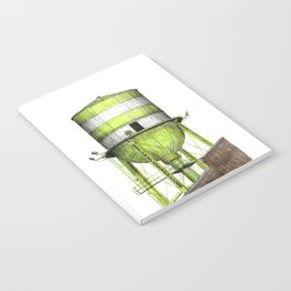 Montreal's Water Tower (Lachine Canal) Notebook