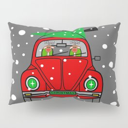 Santa Lane Pillow Sham