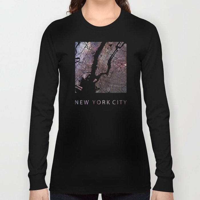 New York Galaxy Long Sleeve T-shirt