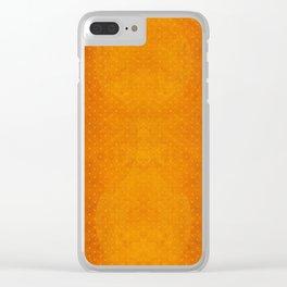 """""""Sabana Sunset Light Polka Dots"""" Clear iPhone Case"""